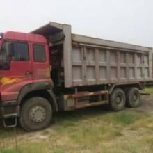 供应顶账用的金王子6x4自卸车急处理,300马力,共47辆图片