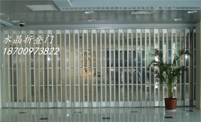 西安弧形水晶折叠门供应商,折叠门批发商、弧形水晶折叠门价格