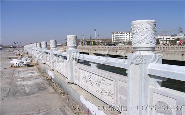 石材栏杆 石栏杆精细雕刻天然长久使用 产地直达