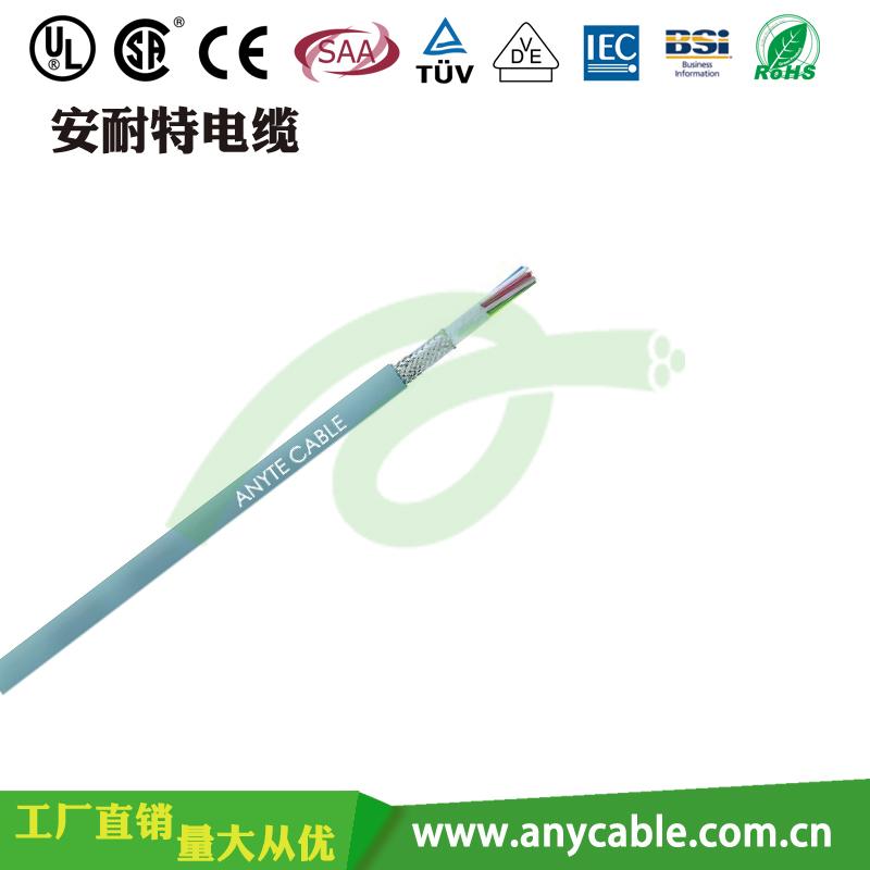 RVVYP耐油18平方电线 聚氯乙烯护套屏蔽软电缆 柔性电线定制