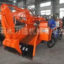 甘肃武威80型液压巷道扒碴机 永力通重工 1.7米轮式皮带扒矿机