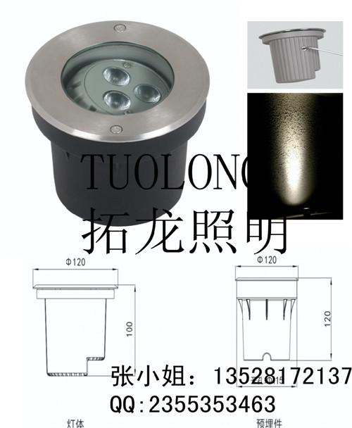 地埋灯 转角地埋灯 LED偏光可调角度专利地埋灯 安装方便