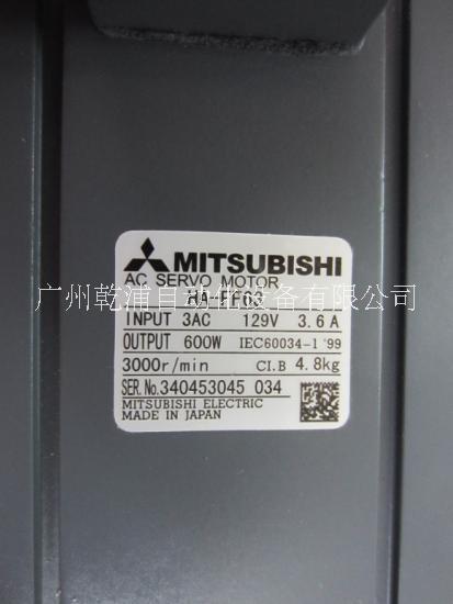 供应三菱伺服电机HA-FF63 三菱伺服电机 全新原装