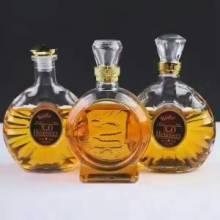 山东高白料玻璃瓶 高白料玻璃酒瓶批发价格 白酒瓶生产厂家图片