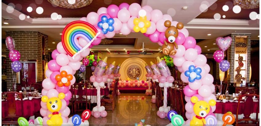 天爆球地爆球橡胶氦气球气球装饰布置