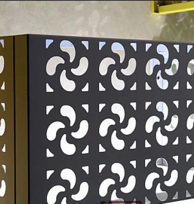铝合金空调百叶图片/铝合金空调百叶样板图 (3)