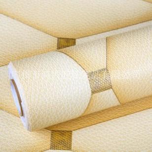 加厚PVC无纺布皮纹墙纸图片