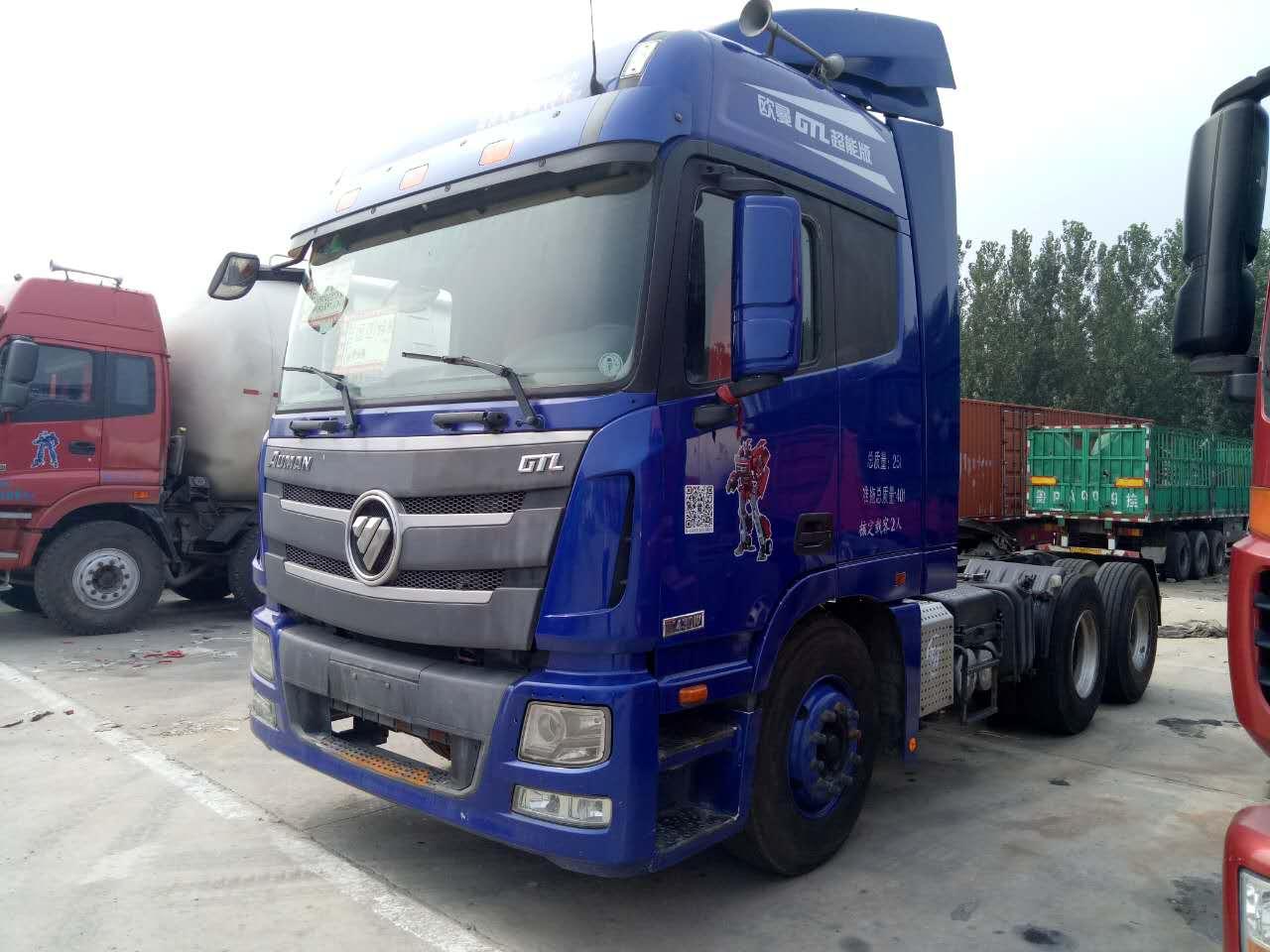欧曼gtl430牵引车百公里油耗多少?图片