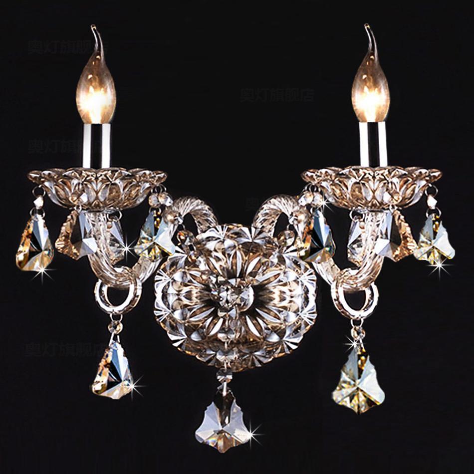 欧式蜡烛水晶壁灯客,蜡烛水晶壁灯图片