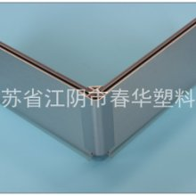 【厂家定制】铝塑复合拉丝踢脚板橱柜踢脚板PVC踢脚线图片