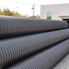 运城低价促销优质全新料PE钢带管、钢带增强聚乙烯(PE)螺旋波纹管批发