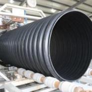 钢带增强聚乙烯螺旋波纹管》汶上县图片