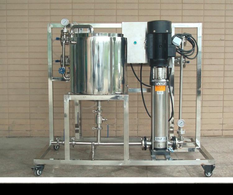 膜分离实验设备工艺 瑞纳膜实验设备装置 膜分离小型实验机 膜应实验