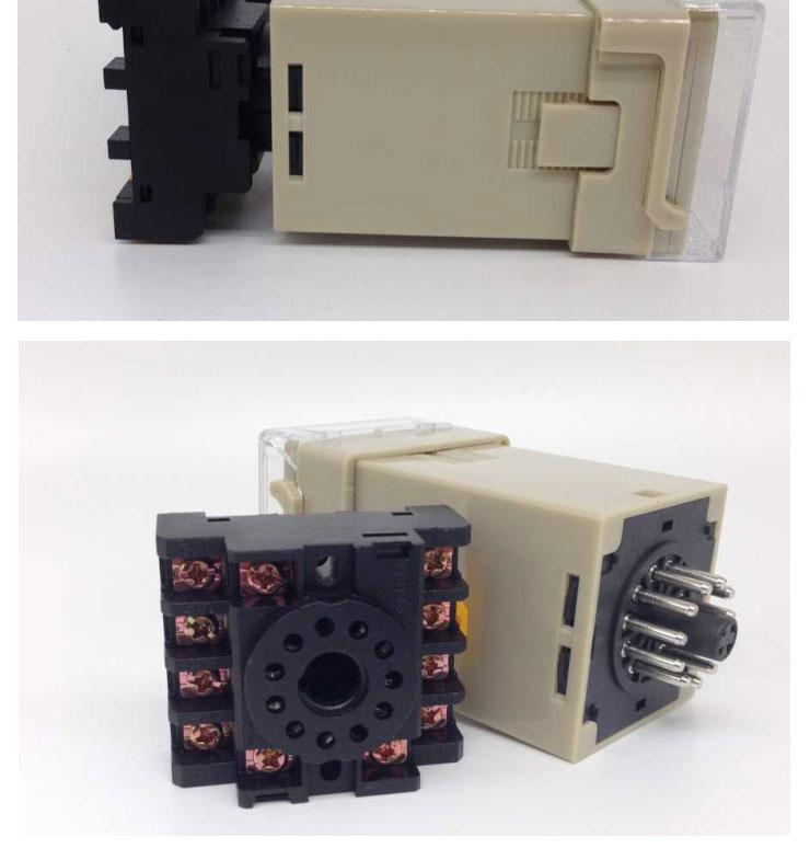 江苏DH48J-A计数器DH48J-A计数器江苏计数器  产品名称:数显计数器型号:DH48J-A 计数信号:触点信号、电压信号、传感器 工作电源:200-240VAC 四位LED数码管显示 计数速度:低频15次/秒、高频30次/秒 复位方式:接线端子复位、面板按扭复位 产品尺寸:4848112mm 面板式/导轨式 适应环境:-5-45 开孔:46*46MM 计数范围:1-99991/10/100加法正计1/10/100减法计数 输出模式:一开一闭输出控制