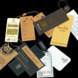 深圳服装吊牌设计制作厂家男女吊牌定做 衣服商标 服装标签印刷