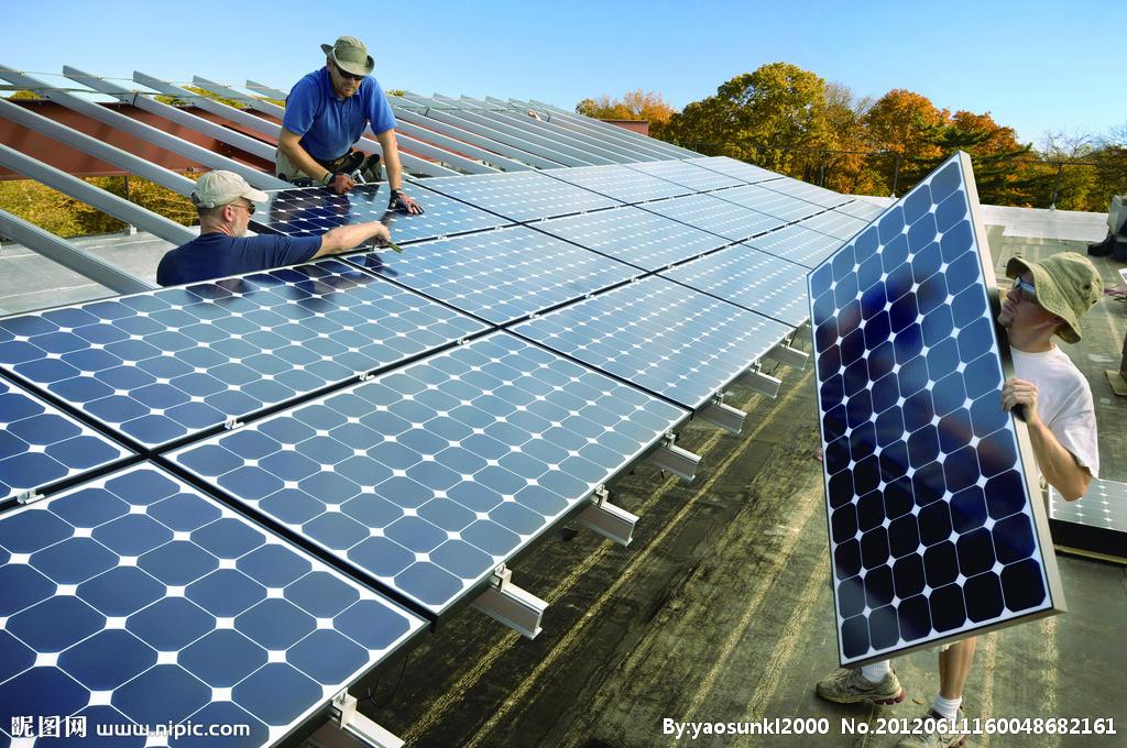 洛阳合胜 5KW光伏发电系统 洛阳太阳能发电系统 家用太阳能发电