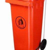 120L垃圾桶 分类环卫垃圾桶 户外带轮移动垃圾桶 HDPE塑料垃圾桶