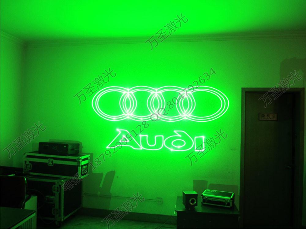 万圣激光专业销售生产10W~30W户外广告激光灯,广告投影设备