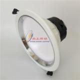筒灯外壳厂批发可代替雷士筒灯外壳 6寸12W 15W一体防眩筒灯外壳