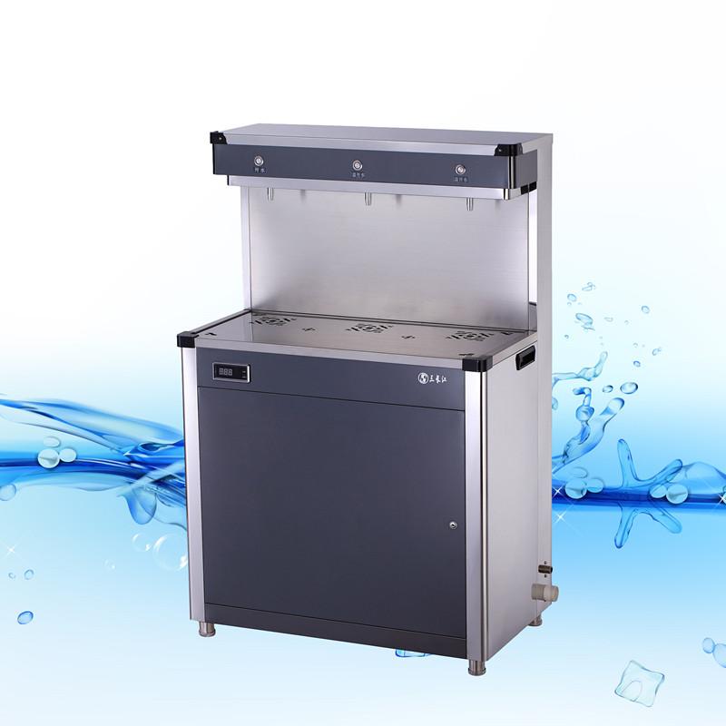 3龙头按钮式标准型节能饮水机YD-3EA全不锈钢钛金板一开二温按钮式标准节能饮水机