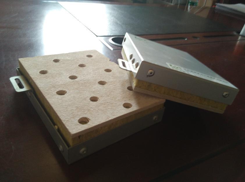 江苏铝板岩棉保温装饰板一体化板厂家