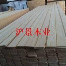 芬兰松无节免漆扣板-沪景木业厂家批发室内松木无节桑拿板批发