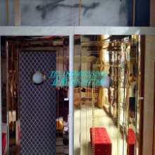 KTV用哪种隔音门  亿家艺KTV隔音包厢门不锈钢门批发