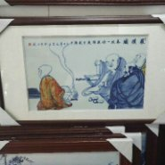 家居装饰瓷片,青花镶嵌瓷板图片