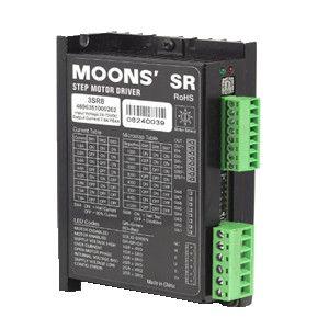 三相交直流步进驱动器3SR8鸣志MOONS驱动器2.4-7.8A,24-75VDC