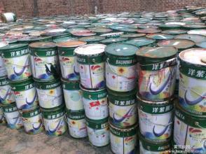 油漆回收库存油漆上门回收