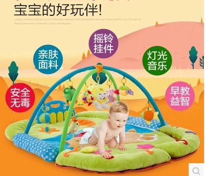 脚踏琴婴儿游戏垫销售