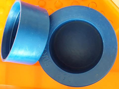 出口钢管圆形塑料管套 圆形塑料管套PVC管帽厂家现货供应