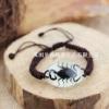 昆虫琥珀手链真实昆虫标本饰品图片