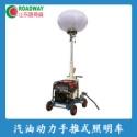 广东汽油动力手推式照明车供应商图片