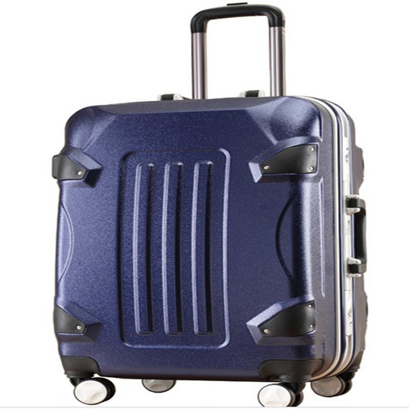 大黄蜂行李箱拉杆箱铝框箱批发登机旅行密码箱潮厂家生产订购