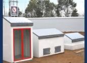 中国石化加油站消防三件套 消防沙箱 消防器材柜 卸油口 加油站消防三大件