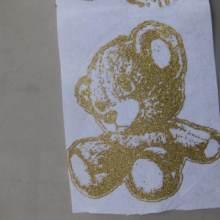 單蔥粉燙畫燙畫熱轉印燙畫蔥粉燙畫植絨膠片批發