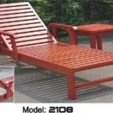 订制庭院躺椅实木扶手椅躺椅沙滩椅折叠椅子上海夏凉椅休闲庭院躺椅椅午休