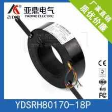 过孔高精度导电滑环360度旋转工业滑环全金属结构导电滑环批发