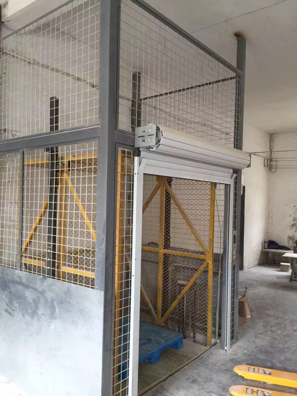 浙江液压链条货梯厂家 室内导轨式液压升降平台定做