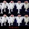 PVC蕾丝婚庆图片