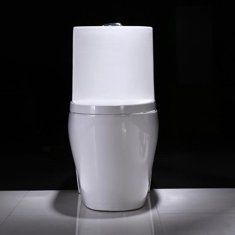 四孔超漩式抽水马桶陶瓷坐便器洁具图片|四孔超漩式