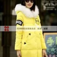 17年爆款羽绒服/杭州品牌女装工图片