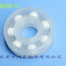 东莞厂家供应耐酸碱混合陶瓷球塑料轴承6004