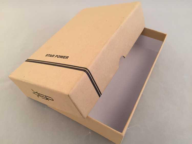 产品展示 深圳市牛皮纸包装盒牛皮纸包装盒天地盖