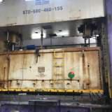 600吨机床开裂焊接成功案例