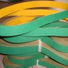 片基帶供應 優質尼龍橡膠傳動帶 高速傳動不易掉粉 廣州生產廠家 黃綠片基帶圖片
