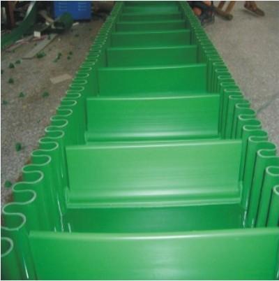厂家生产PVC档板裙边输送带 PU输送带