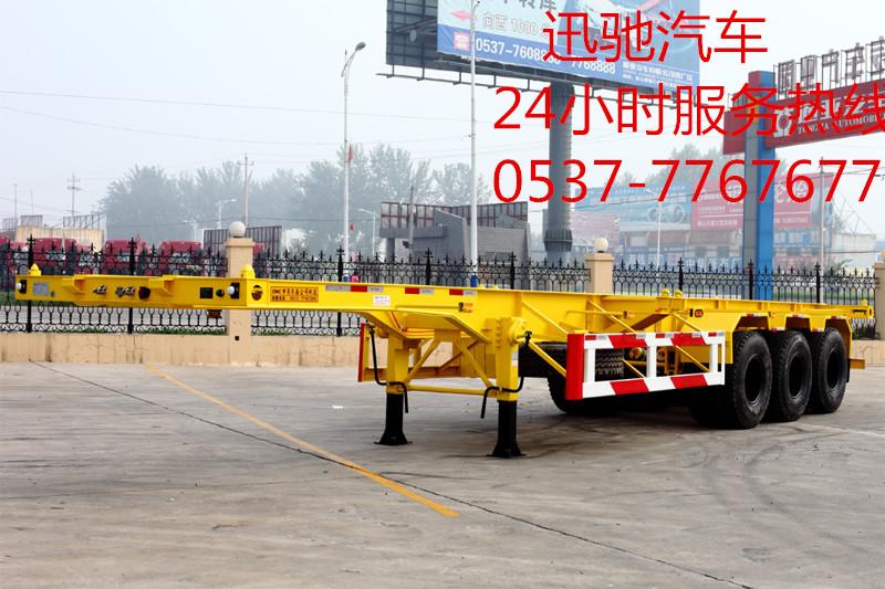 集装箱运输车,骨架,集装箱运输车