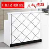 公司烤漆前台桌  广州办公家具家具 前台桌生产产家 办公桌直销 电脑桌